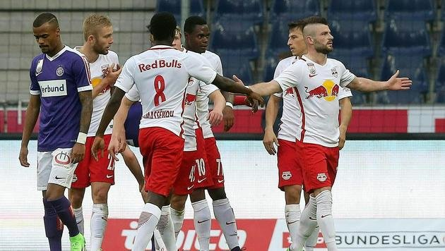 5:0! Bullen nehmen die Austria auseinander (Bild: APA/KRUGFOTO)
