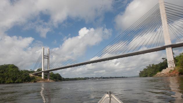 Diese Brücke verbindet die EU und Brasilien (Bild: AFP)