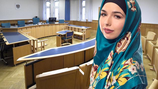 Auch Österreichs Richter für Kopftuchverbot (Bild: APA/HELMUT FOHRINGER, thinkstockphotos.de)