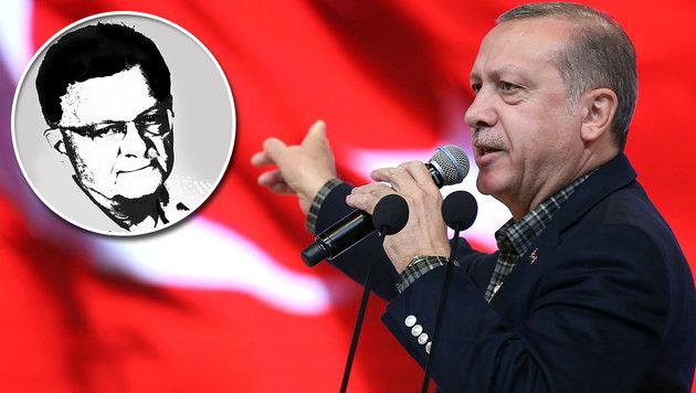 Erdogans bisher folgenschwerste Hetze (Bild: AP)
