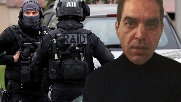 Der 39-jährige Angreifer Ziyed Ben Belgacem wurde am Flughafen Orly erschossen. (Bild: AFP, twitter.com, thinkstockphotos.de)