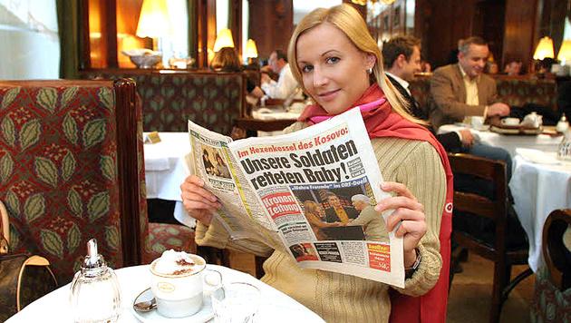 """""""Krone"""" weiterhin klare Nummer 1 in Österreich (Bild: Kronen Zeitung)"""