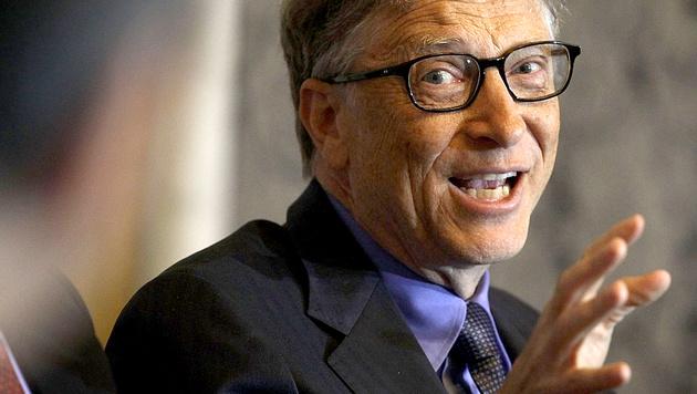 Bill Gates weiterhin reichster Mann der Welt (Bild: Getty Images)