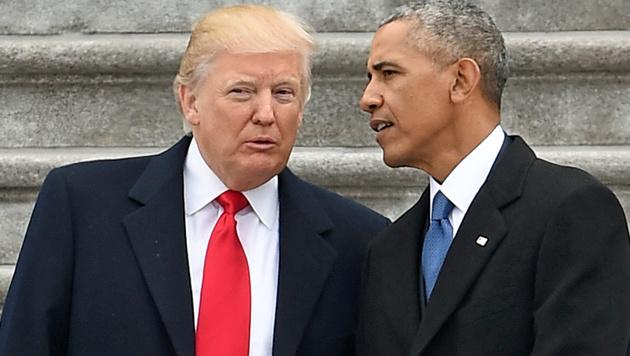Obama-Abhöraktion auf Trump? FBI hat keine Beweise (Bild: Robyn BECK/AFP)