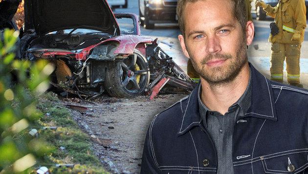 Paul Walker hat nach dem Crash noch geatmet! (Bild: AP/Andre Penner, AP/Dan Watson)