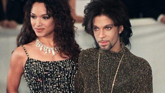Mayte Garcia und Prince (Bild: AFP)
