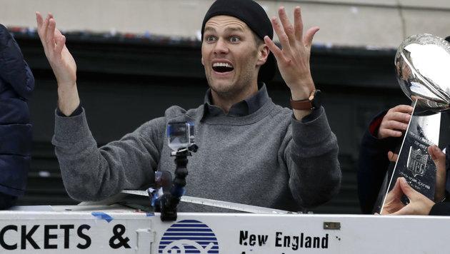 Verschwundenes Trikot von Brady wieder aufgetaucht (Bild: AP)
