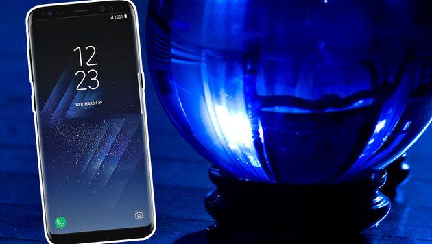 Was wir über Samsungs Galaxy S8 zu wissen glauben (Bild: flickr.com/muggles, twitter.com)