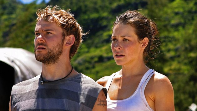 "Dominic Monaghan und Evangeline Lilly in ""Lost"" (Bild: CapFSD, face to face)"