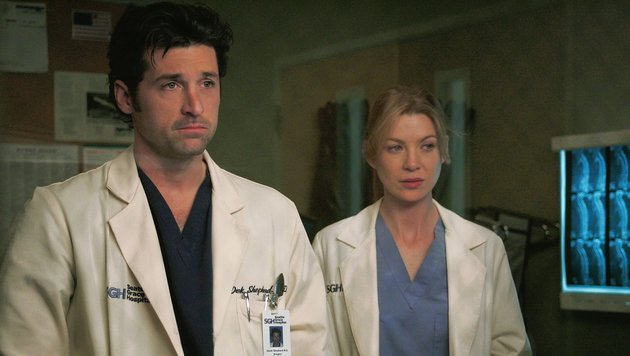 Patrick Dempsey in 'Grey's Anatomy' (Bild: CapFSD, face to face)