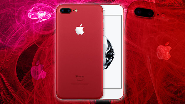 Apple enthüllt iPhone 7 in roter Limited Edition (Bild: Aplle, thinkstockphotos.de)