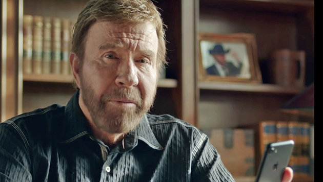 Chuck Norris bekommt eigenes Mobile Game (Bild: youtube.com)