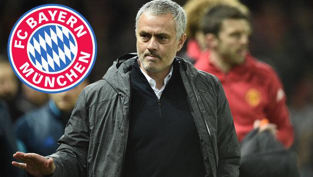Jose Mourinho lästert über Bayern München! (Bild: AFP)