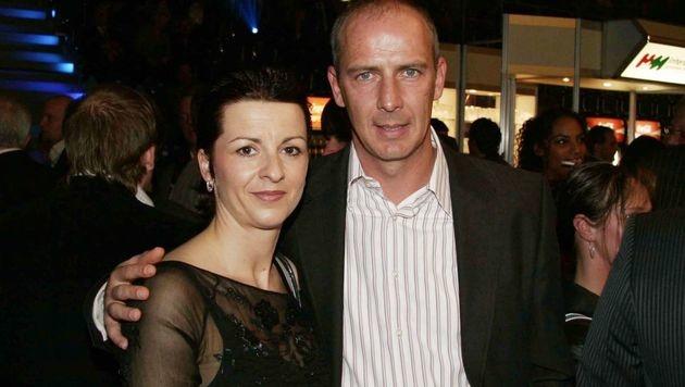 Mario Basler mit seiner Ex-Ehefrau Iris (Bild: Jürgen Kirschner/face to face)