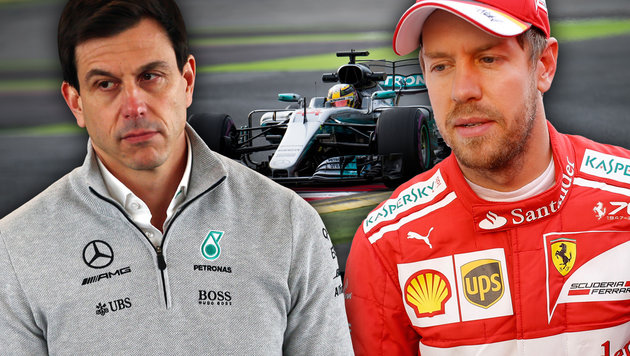 "Mercedes-Flirt mit Vettel: ""Würde zum Team passen"" (Bild: AP/Francisco Seco, GEPA)"