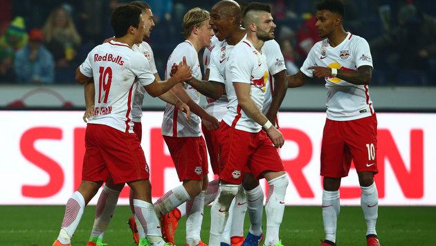 Red Bull Salzburg ist wieder nicht zu stoppen (Bild: GEPA)