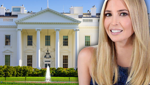 Trumps Tochter Ivanka bekommt Büro im Weißen Haus (Bild: twitter.com, thinkstockphotos.de)