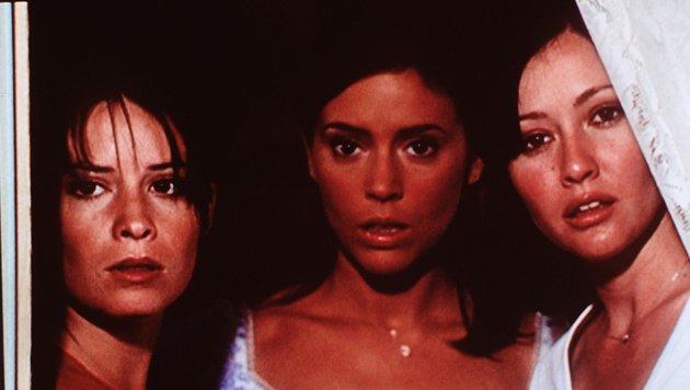 "Holly Marie Combs, Alyssa Milano und Shannen Doherty in ""Charmed - Zauberhafte Hexen"" (Bild: ORF)"