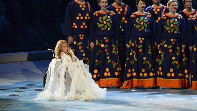 Julia Samoilowa sollte Russland beim ESC in Kiew vertreten. (Bild: Associated Press)