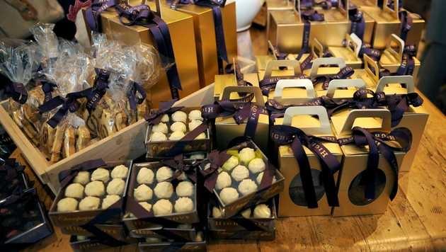 In dem Shop auf Gut Highgrove werden Produkte aus der Region verkauft. (Bild: Viennareport)