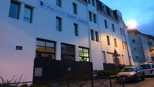 Aus dieser Schule in Frankreich stammen jene Schüler, die beim Anschlag in London verletzt wurden. (Bild: AFP)