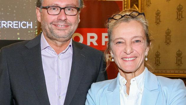 ORF-General Wrabetz und Programmdirektorin Kathrin Zechner (Bild: ORF)