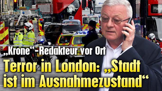 """Nach Anschlag: """"Die Stadt ist im Ausnahmezustand!"""""""