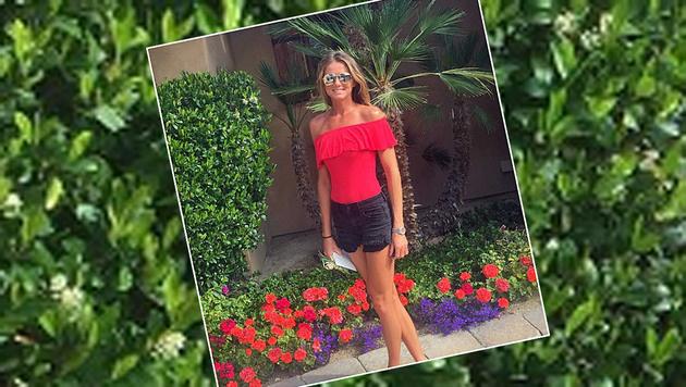 Da steigt die Lebensfreude gleich: Tennis-Beauty Daniela Hantuchova ist bereit für den Frühling. (Bild: Instagram)
