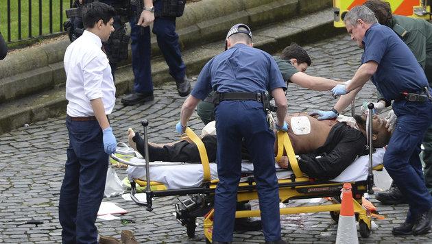 Der Terrorverdächtige von London (Bild: AP)