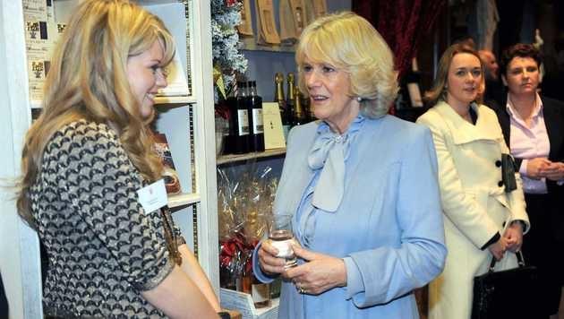 Camilla im Highgrove Shop (Bild: Viennareport)