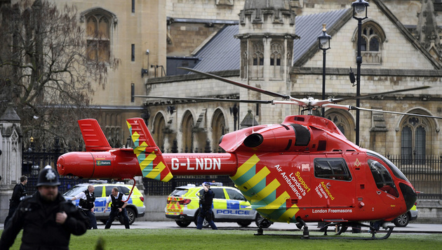 Neuer Terror-Schock: Blutige Attacke auf London (Bild: ASSOCIATED PRESS)