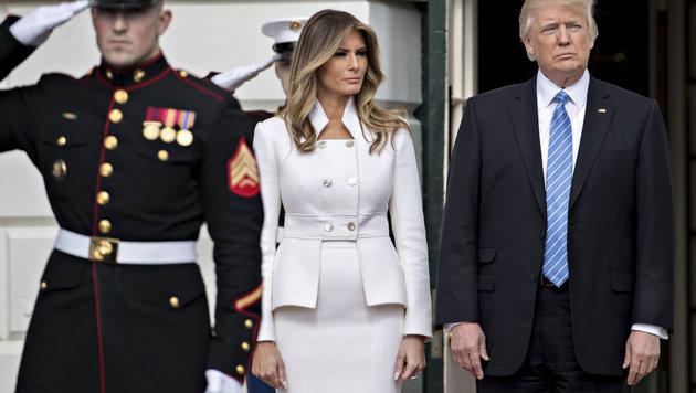 Trump hat kein Interesse am Balkan - auch wenn seine Gattin Melania slowenische Wurzeln hat. (Bild: Viennareport)