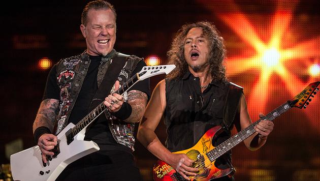 Hier Tickets für Metallica in Wien sichern! (Bild: AFP)