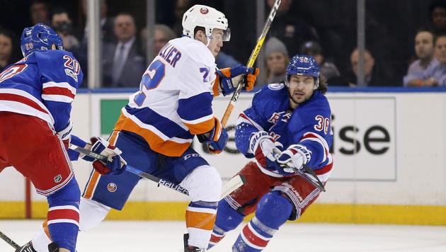 Rangers verlieren mit Grabner New-York-Derby (Bild: AP)