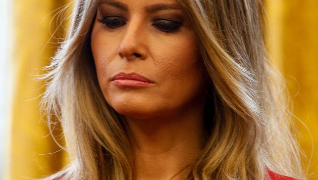 Melania Trump wirkt oft traurig und abwesend. (Bild: AdMedia/face to face)