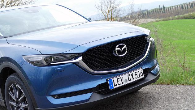 Mazda CX-5: Fahr-Maßstab der Kompakt-SUVs? (Bild: Stephan Schätzl)