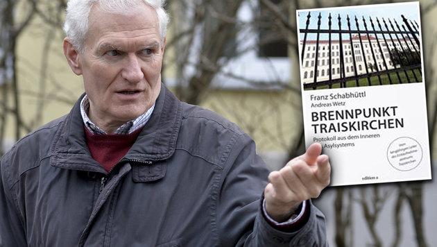 """Franz Schabhüttl sorgt mit seinem Buch """"Brennpunkt Traiskirchen"""" für Aufsehen. (Bild: APA/Herbert Neubauer)"""