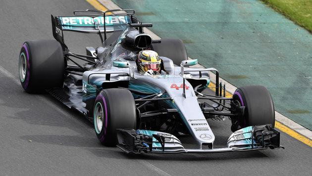 Melbourne: Hamilton sorgt für Rundenrekord! (Bild: AP)