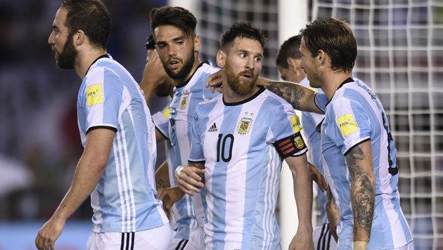 WM-Quali: Messi lässt Argentinien wieder hoffen (Bild: AP)