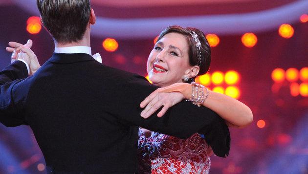 "Christine Kaufmann 2011 bei ""Dancing Stars"" (Bild: APA//ORF/ALI SCHAFLER)"