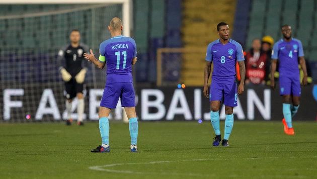 Schweizer weiter makellos, Pleite für Niederlande (Bild: AP)