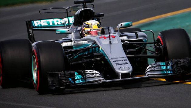 Hamilton holt Pole - Vettel sprengt Mercedes-Duo (Bild: GEPA)
