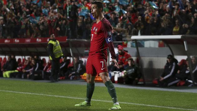 Cristiano Ronaldo hat jetzt eigenen Flughafen! (Bild: AP)