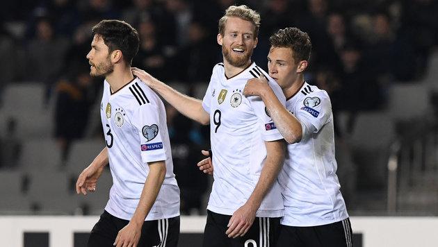 Deutsche weiter makellos, England besiegt Litauen (Bild: AFP)