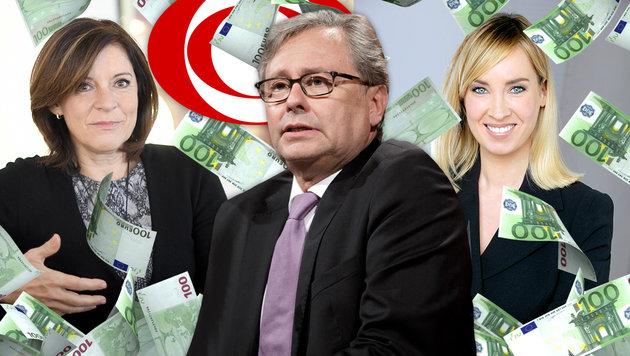 Gagenreport: So viel kassieren die ORF-Stars ab (Bild: APA/ROLAND SCHLAGER,APA/GEORG HOCHMUTH, ORF,thinkstockphotos.de)