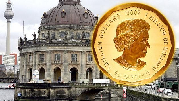 100-Kilo-Goldmünze aus Berliner Museum gestohlen (Bild: AFP)