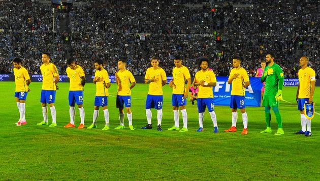 Brasilien kann die WM-Quali bereits klar machen! (Bild: AFP)
