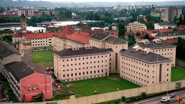 Luftaufnahme der Grazer Strafanstalt Karlau (Bild: APA/GEPA)