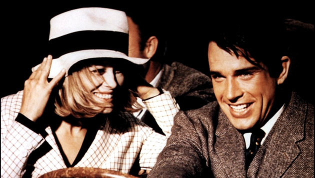 "Warren Beatty und Faye Dunaway in ""Bonnie and Clyde"" (Bild: CapFSD, face to face)"