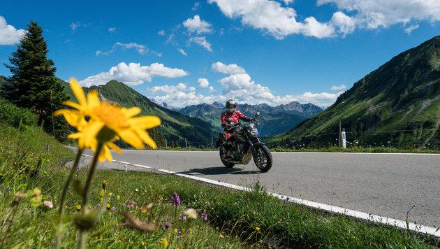 Nach Monaten der Enthaltsamkeit können Biker die Freiheit auf zwei Rädern wieder genießen (Bild: Stiplovsek Dietmar)